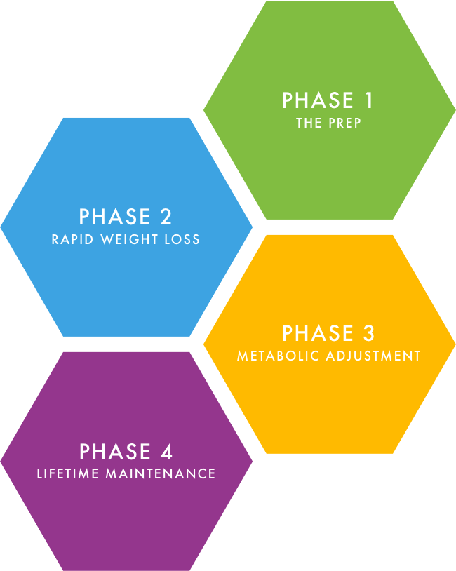 Four Phases to Rapid Weight Loss