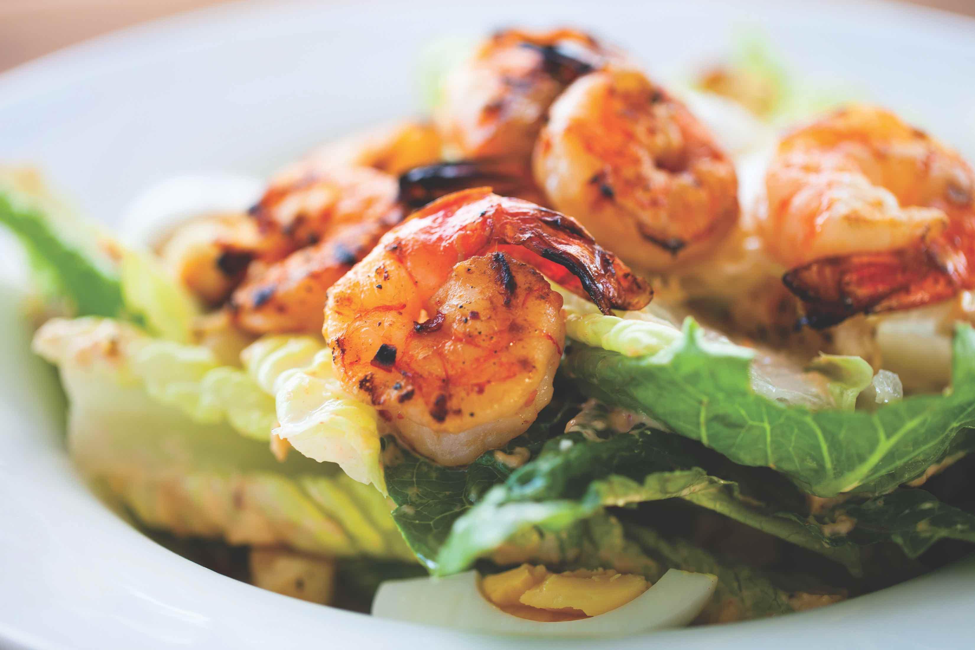 Shrimp salad