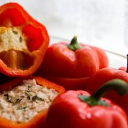 Tasty Stuffed Red Peppers